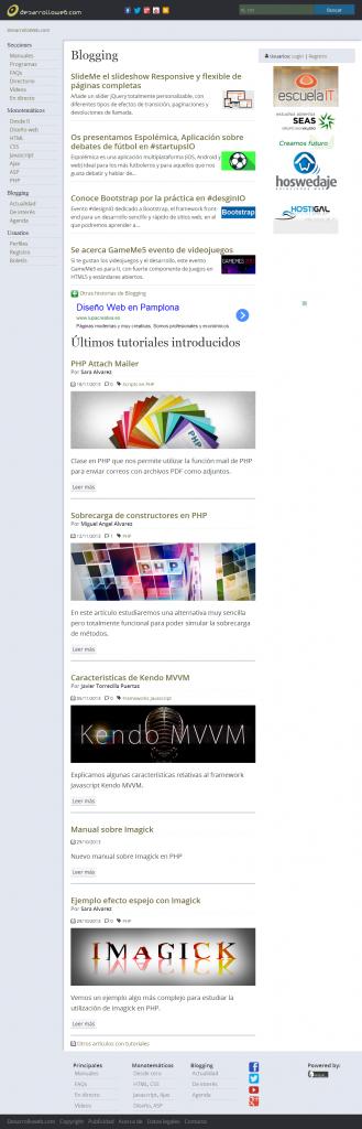 Desarrollo Web, Tu mejor ayuda para aprender a hacer webs.
